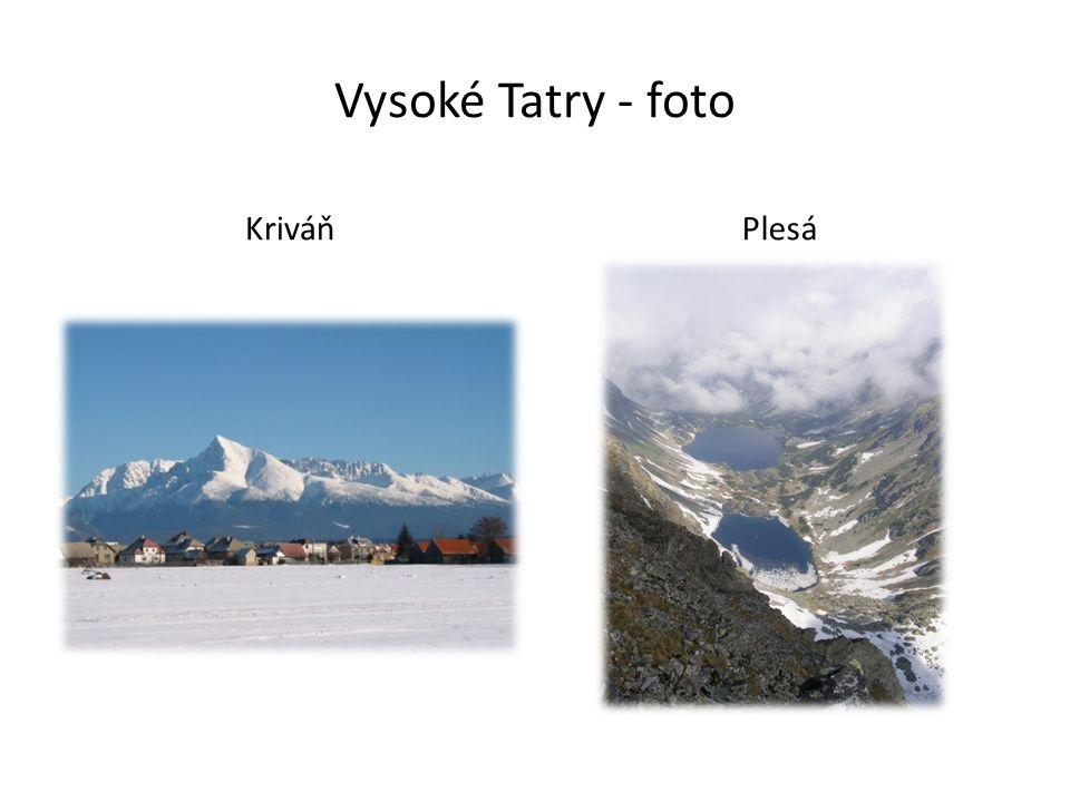 Vysoké Tatry - foto KriváňPlesá