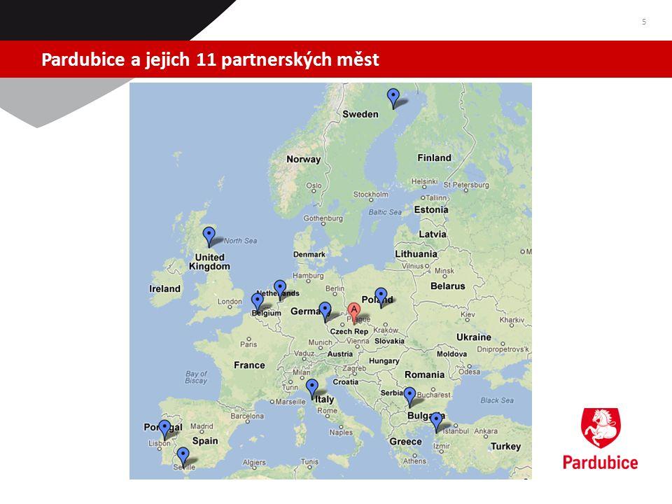 Pardubice a jejich 11 partnerských měst 5