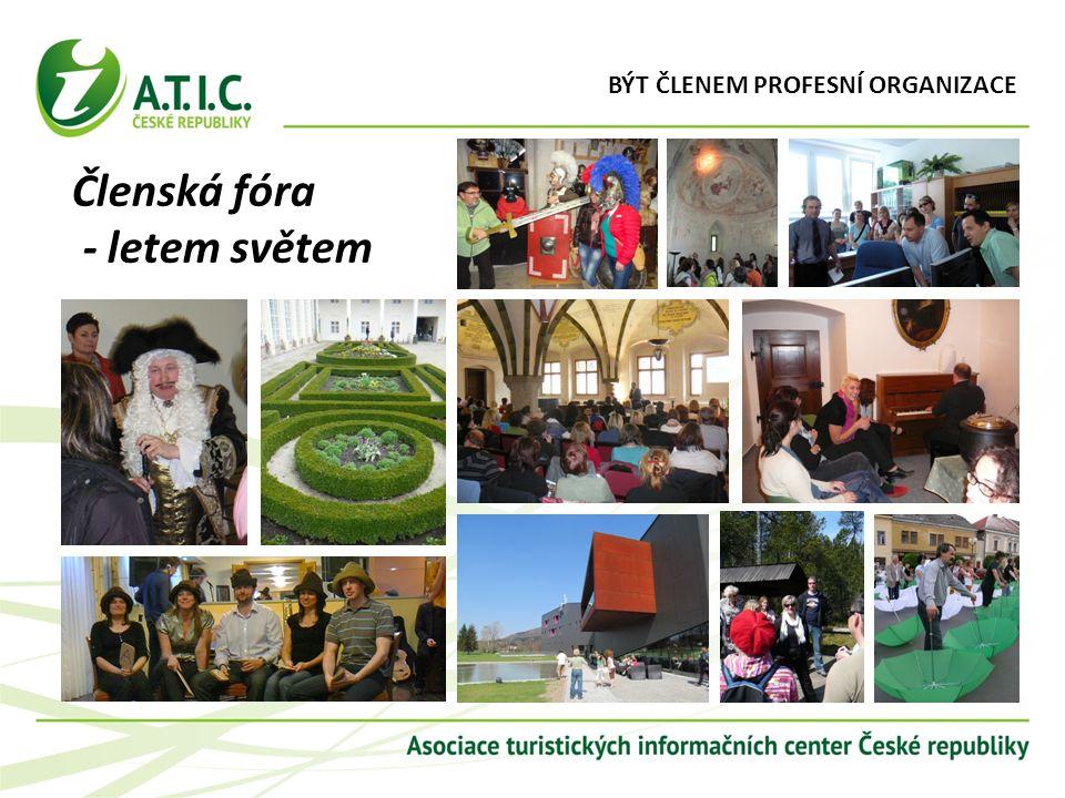 Členská fóra - letem světem BÝT ČLENEM PROFESNÍ ORGANIZACE