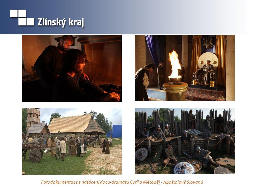 Fotodokumentace z natáčení docu-dramatu Cyril a Mětoděj - Apoštolové Slovanů