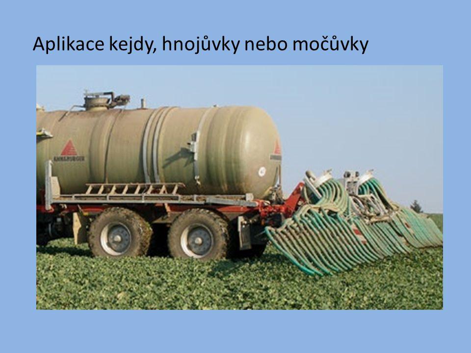 Chlévský hnůj zpevněné hnojiště