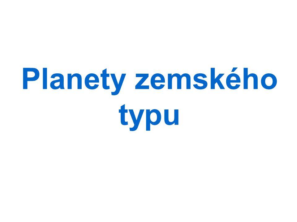 Planety zemského typu