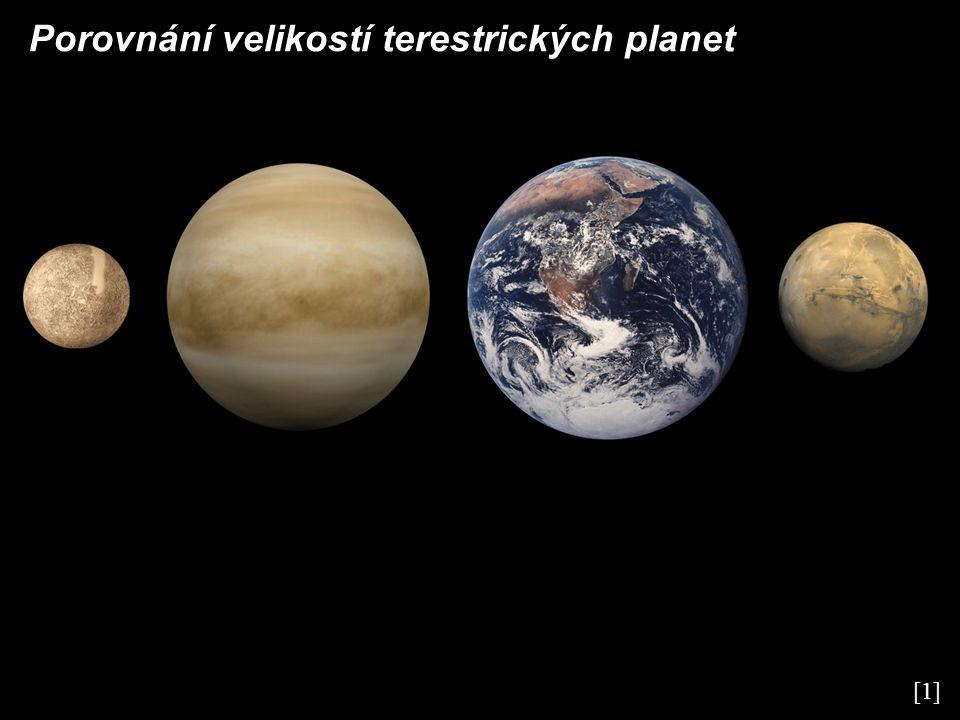 Porovnání velikostí terestrických planet [1]