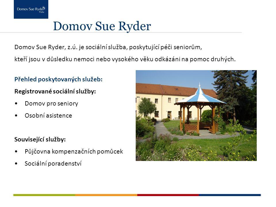 Domov Sue Ryder Domov Sue Ryder, z.ú.