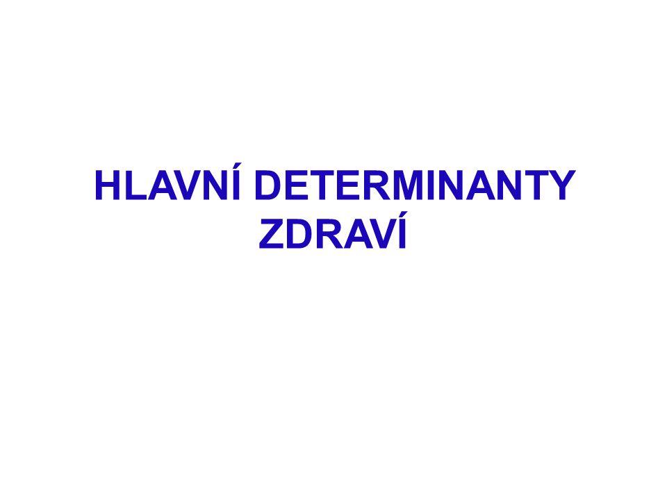 Doporučená četba k SDZ: Wilkinson, R., Marmot, M.(eds.): Social Determinants of Health.