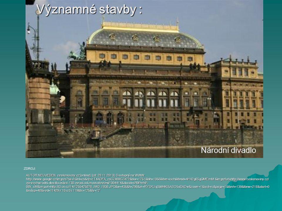 Národní muzeum AUTOR NEUVEDEN.cojeco.cz [online].