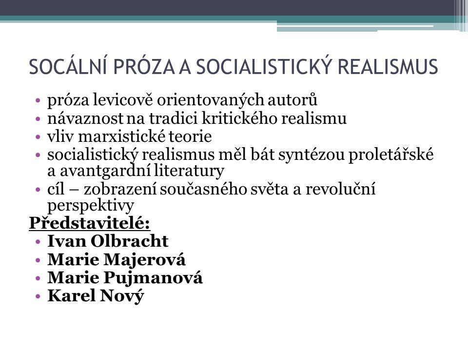 ZDROJE SOCHROVÁ Marie.Literatura v kostce pro SŠ.