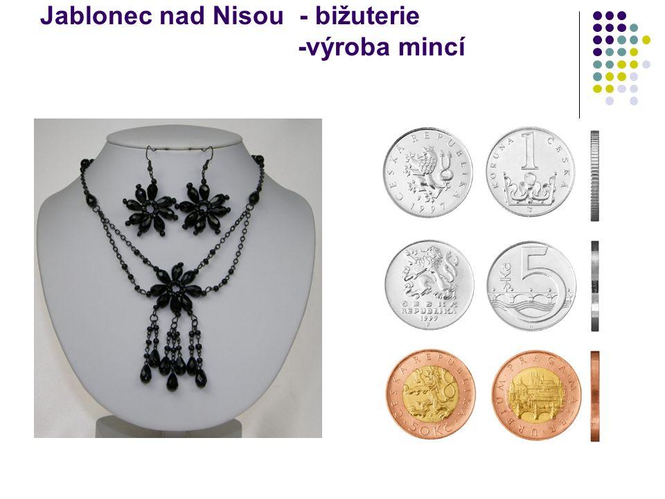 Jablonec nad Nisou - bižuterie -výroba mincí