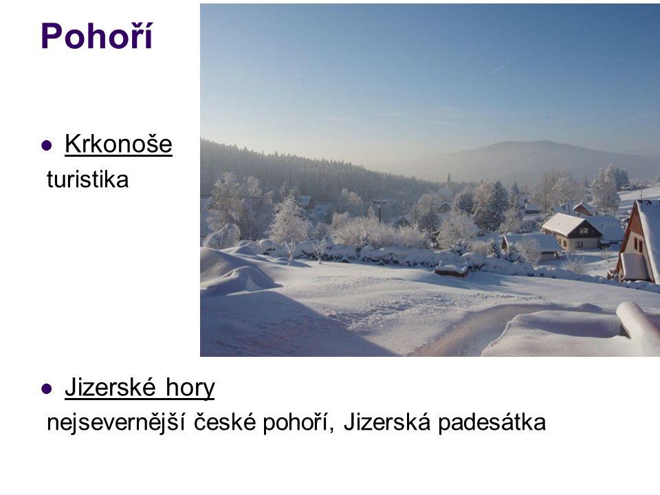 Pohoří Krkonoše turistika Jizerské hory nejsevernější české pohoří, Jizerská padesátka