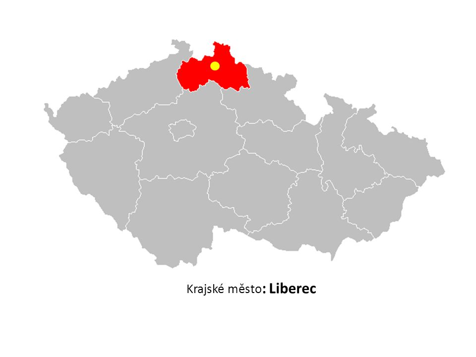 Krajské město : Liberec