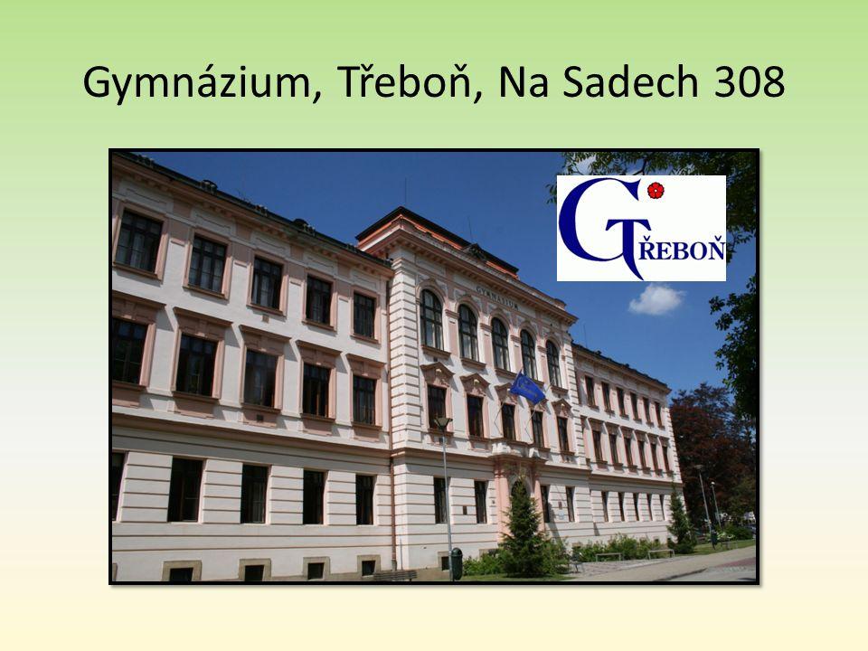 Gymnázium, Třeboň, Na Sadech 308