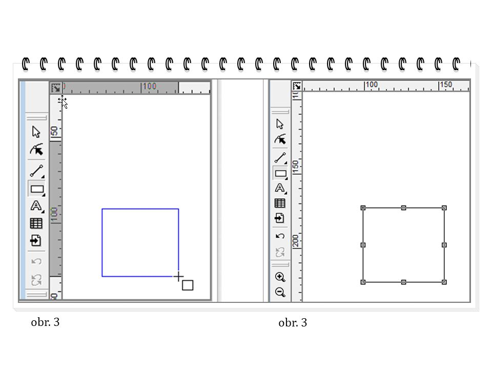 Počítačová grafika Zoner Callisto geometrické tvary II. část