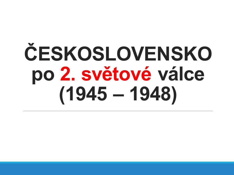 Znárodnění Převod majetku ze soukromého vlastnictví do vlastnictví státu.