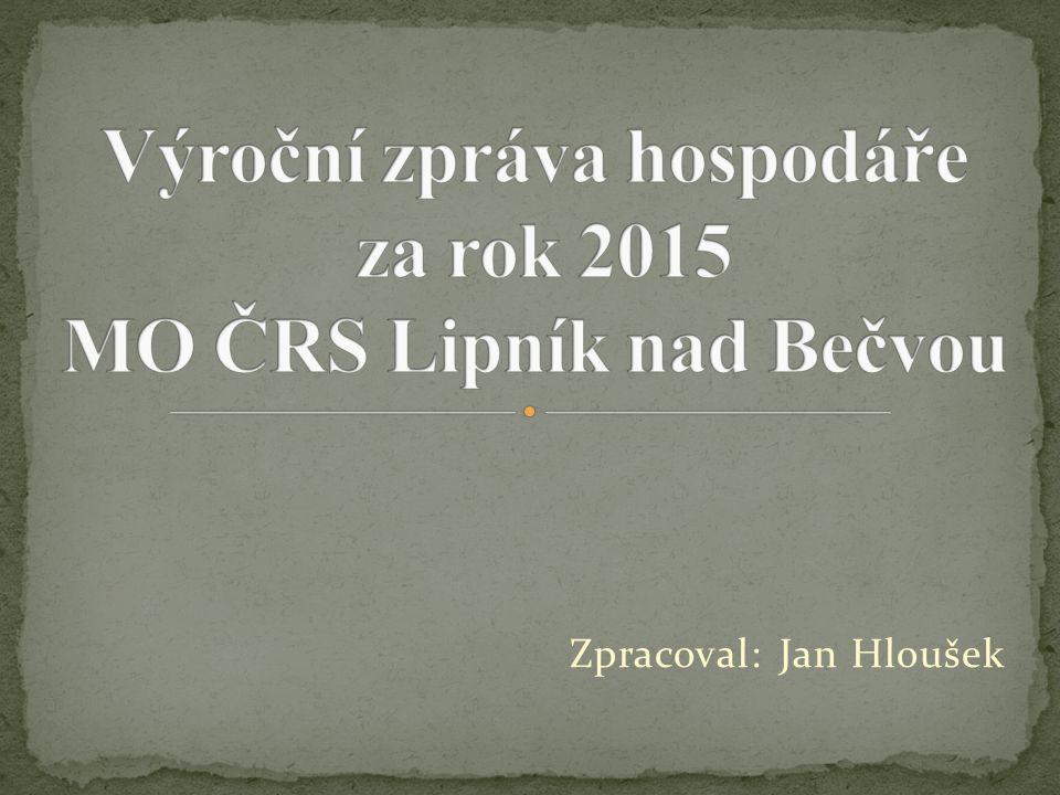 Zpracoval: Jan Hloušek