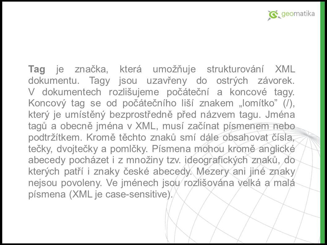 Test A Který zápis XML dokumentu je správný? B C D aaa ?