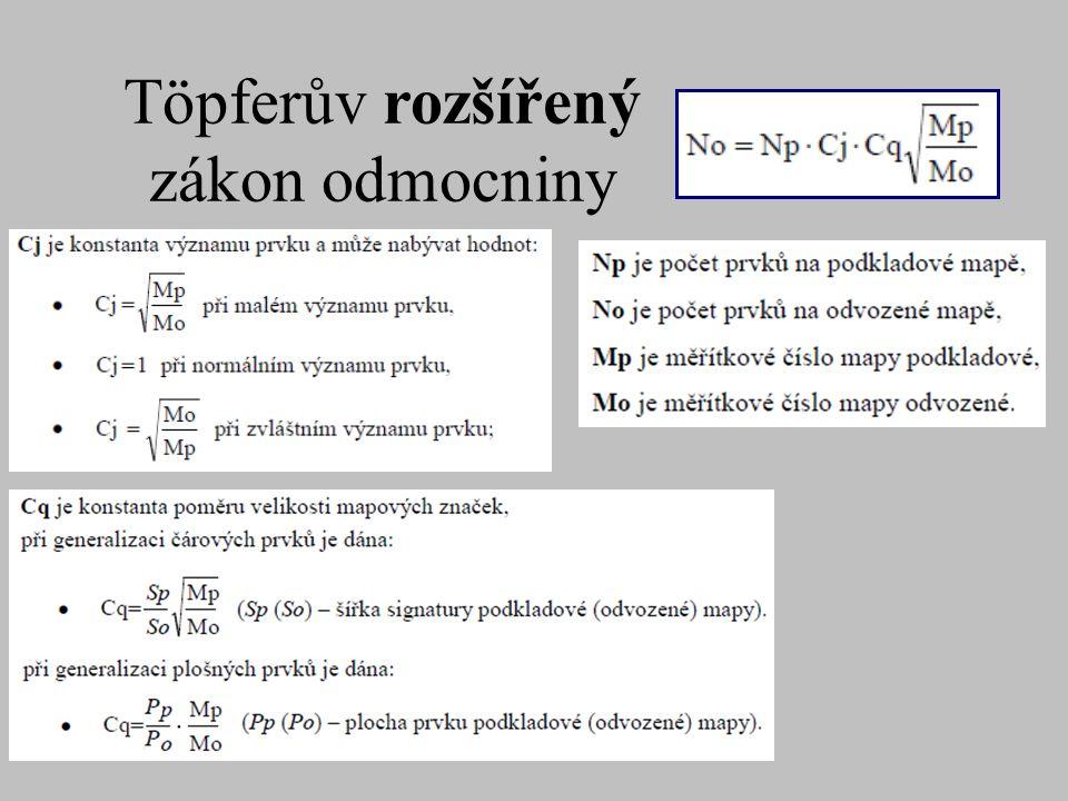 Töpferův rozšířený zákon odmocniny