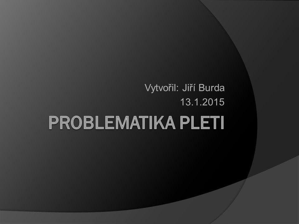 Vytvořil: Jiří Burda 13.1.2015