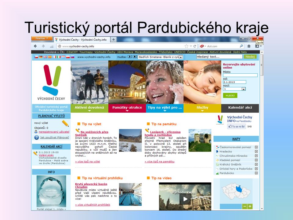 Turistický portál Pardubického kraje