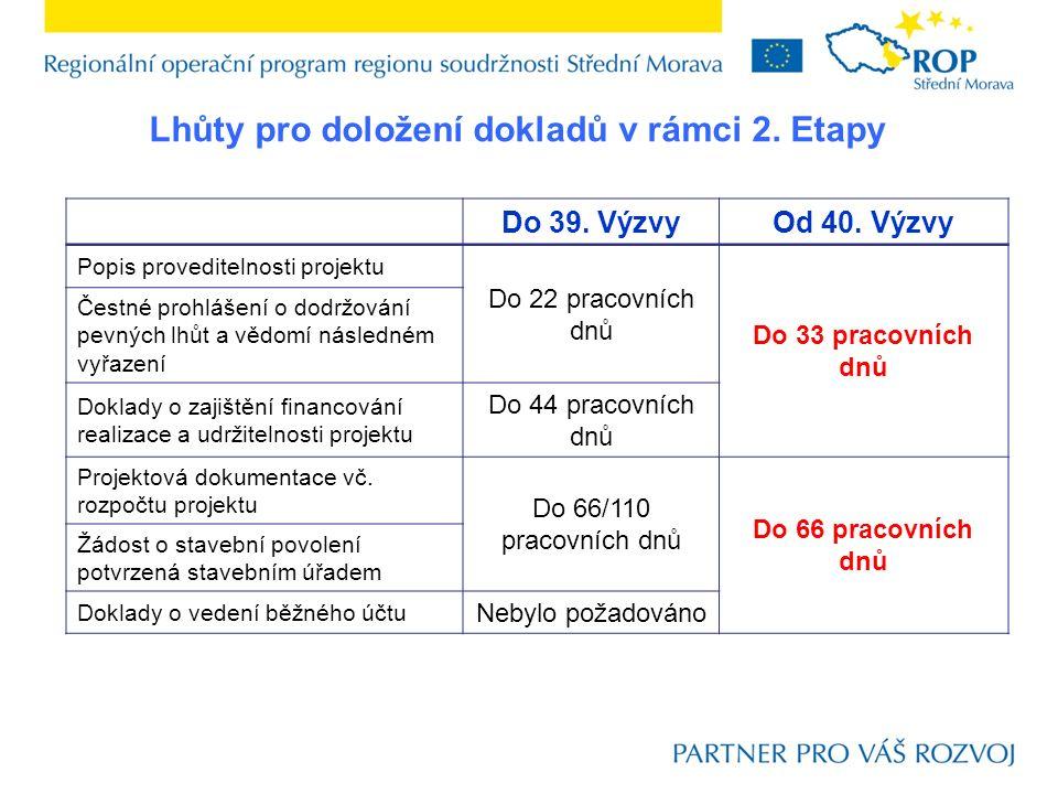 Ve vazbě na rozpočet projektu:  Zařazení nezpůsobilé položky nesouvisející přímo se stavbou – např.