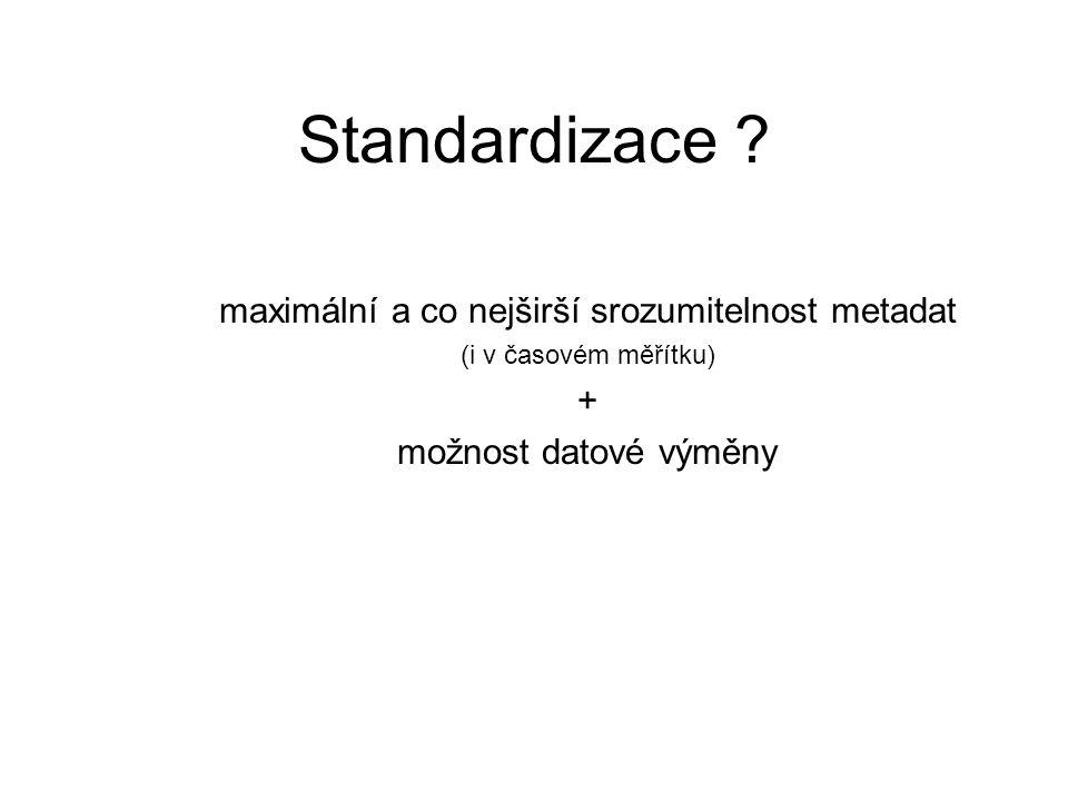 Standardizace .