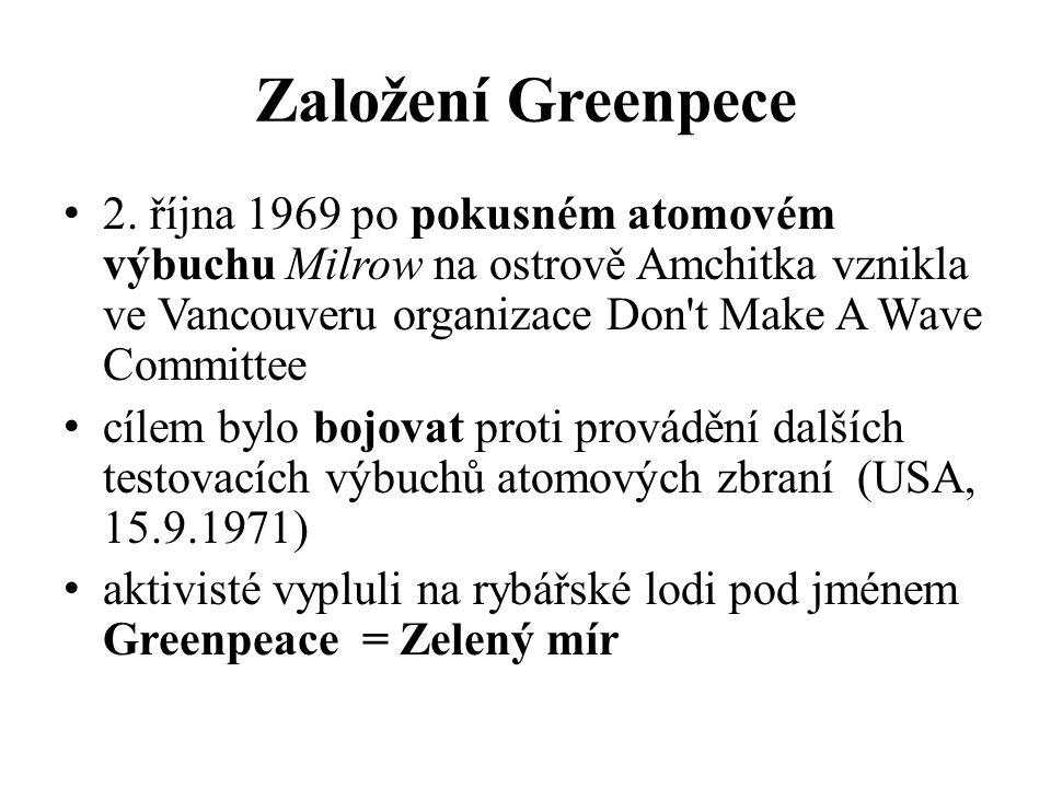 Založení Greenpece 2.