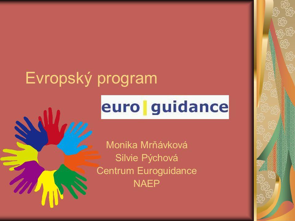 Evropský program Monika Mrňávková Silvie Pýchová Centrum Euroguidance NAEP