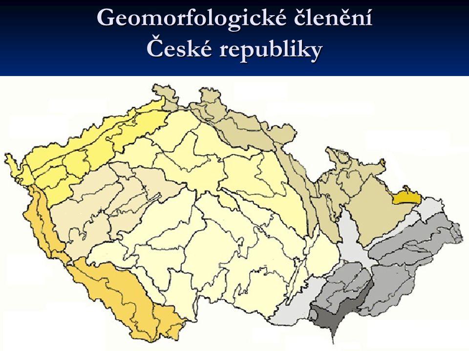 1 Šumavská 2 Krušnohorská 3 Poberounská 4.