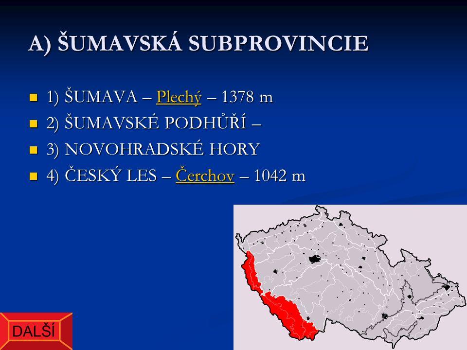 Plechý – nejvyšší vrchol Šumavy i západních Čech