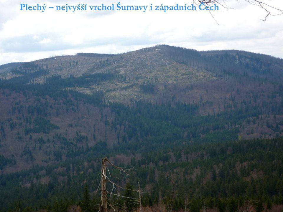 Čerchov - nejvyšší vrchol Českého lesa
