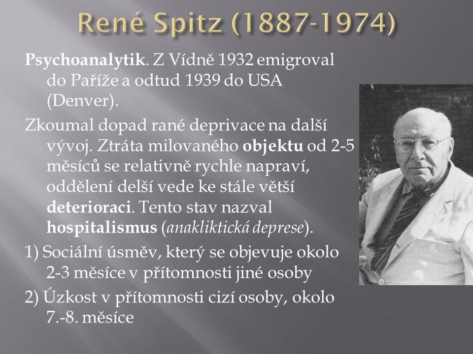Psychoanalytik. Z Vídně 1932 emigroval do Paříže a odtud 1939 do USA (Denver).