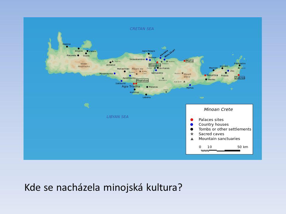 Kde se nacházela minojská kultura