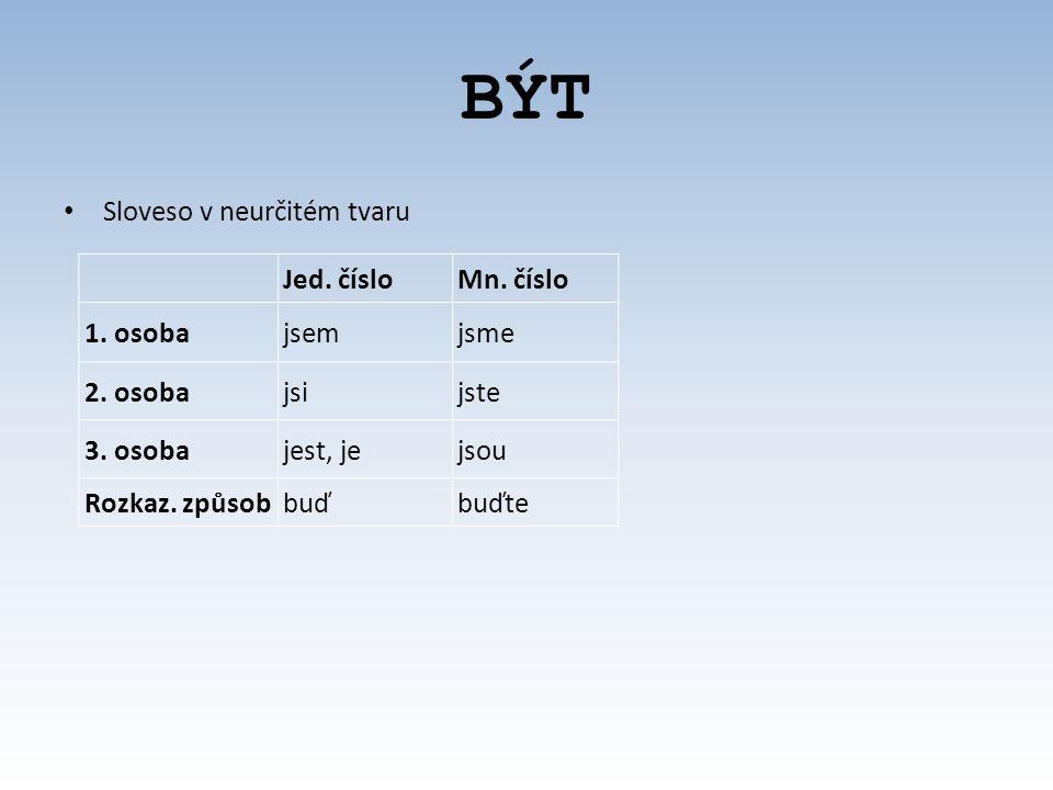 BYDLIT Sloveso v neurčitém tvaru Spisovný je také tvar bydlet Jed.
