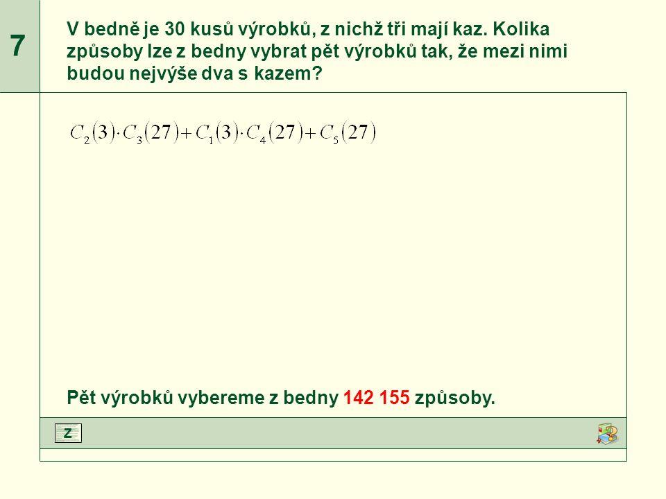 C 2 (3), C 3 (27), C 1 (3), C 4 (27) a C 5 (27) upravíme podle vzorce.Upravíme jmenovatele zlomků.Vypočteme jednotlivé zlomky.Dopočítáme příklad.