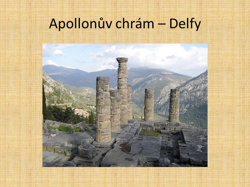 Apollonův chrám – Delfy