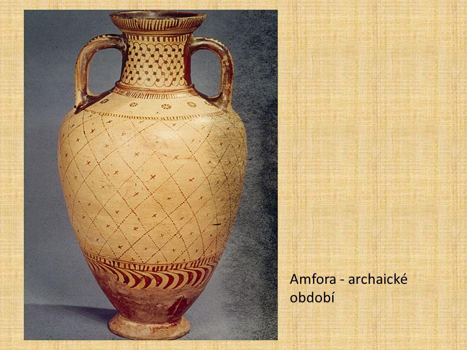 Amfora - archaické období