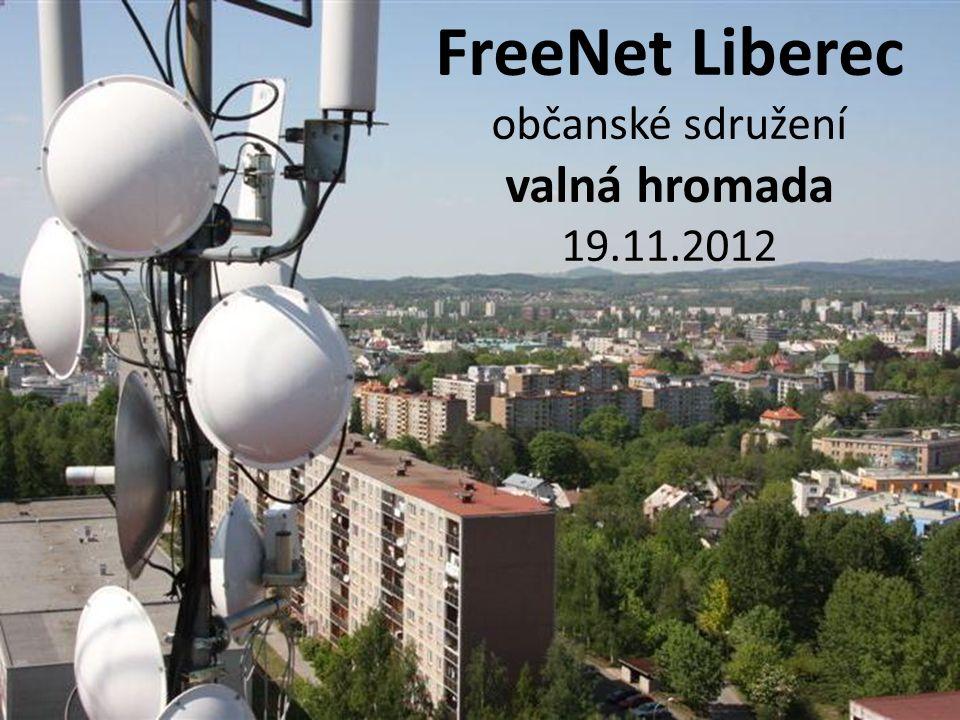 FreeNet Liberec občanské sdružení valná hromada 19.11.2012