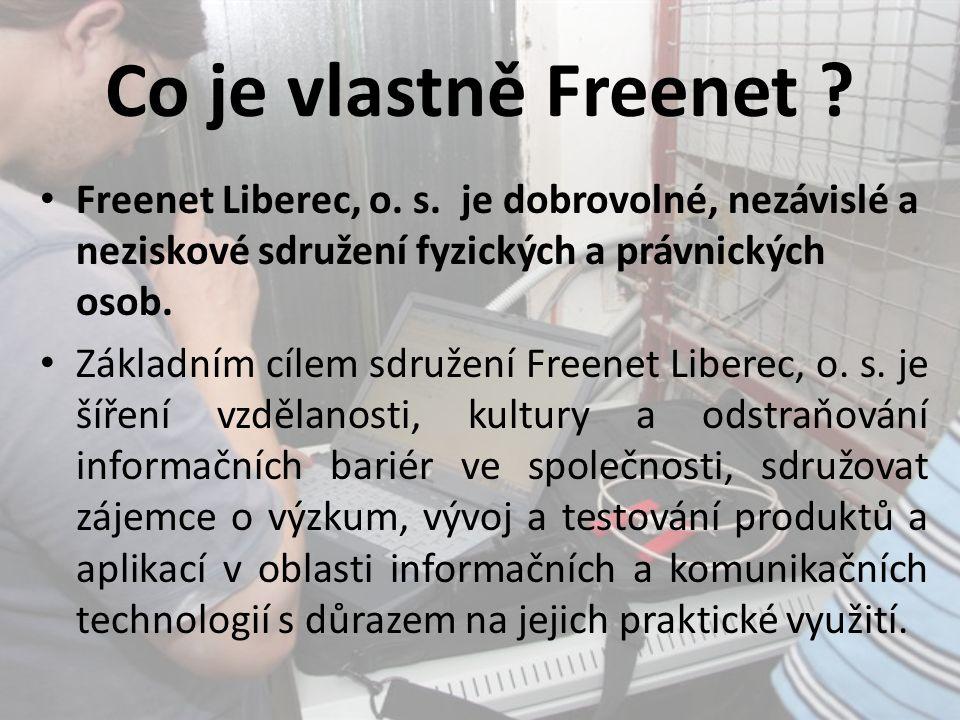 Co je vlastně Freenet . Freenet Liberec, o. s.