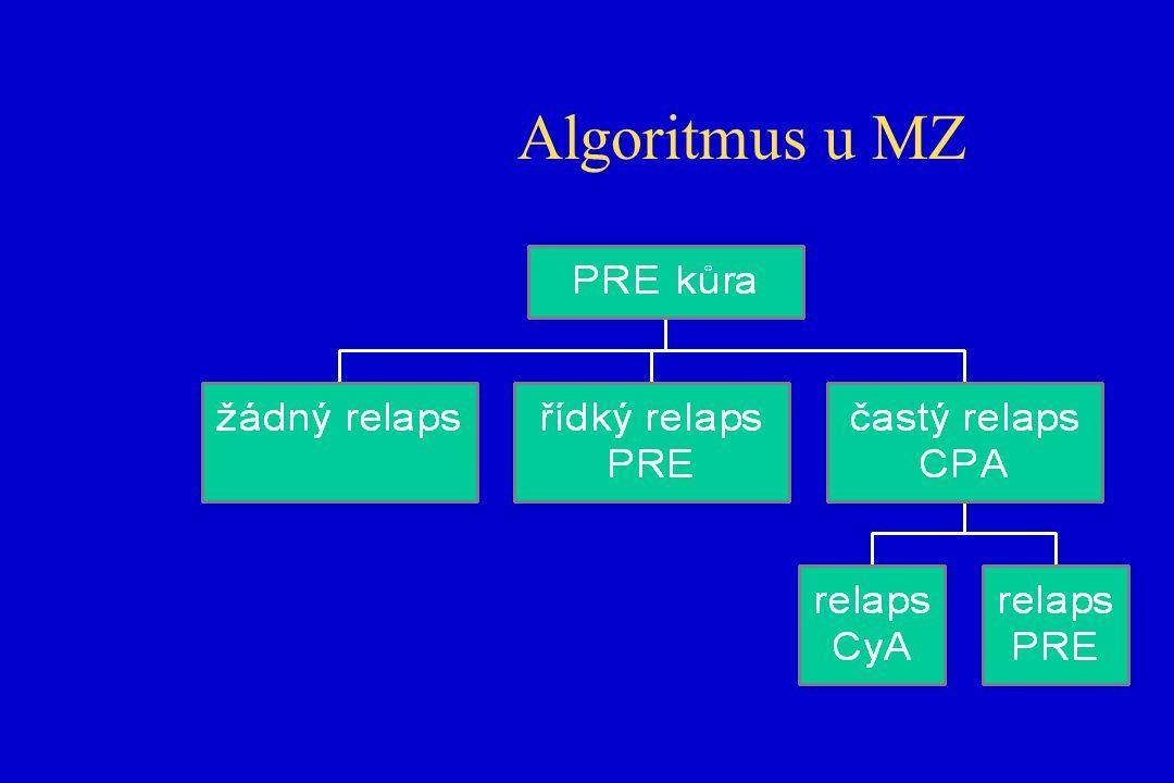 Algoritmus u MZ
