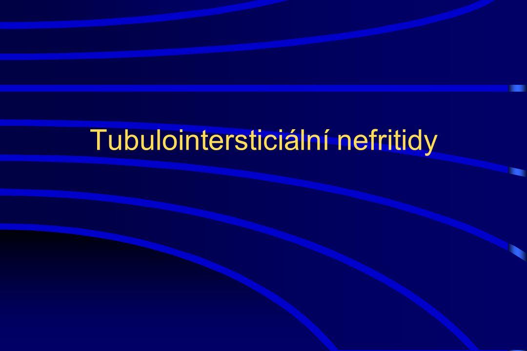 Tubulointersticiální nefritidy