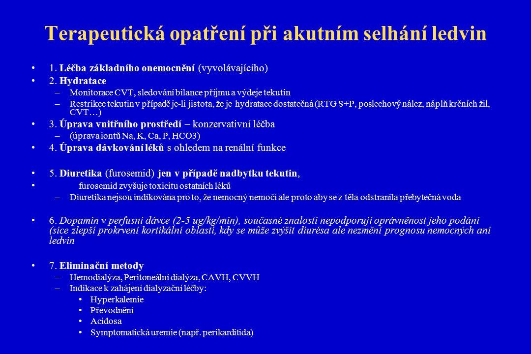 TIN - přehled Akutní TIN Akutní bakteriální TIN ATIN abakteriální –ATIN hypersenzitivní –ATIN parainfekční –ATIN při systémových ch.