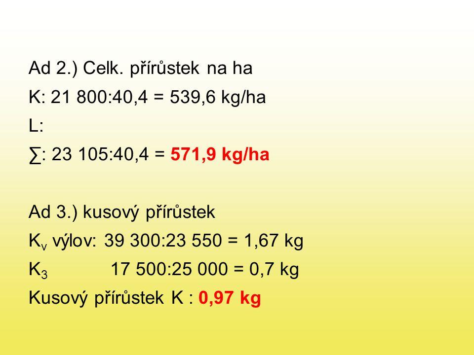 Ad 2.) Celk.