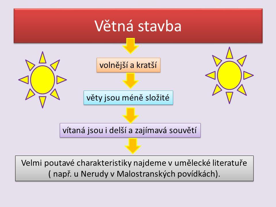 Jazykové prostředky charakteristiky Volba výstižných výrazů, zvláště hodnotících.