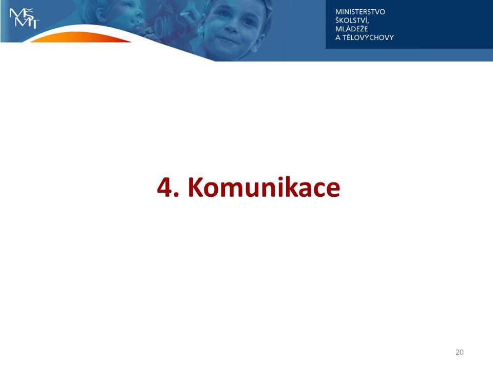 4. Komunikace 20