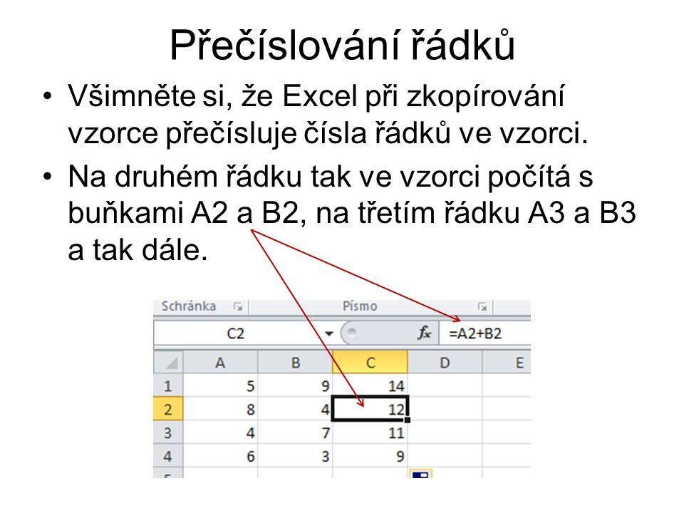 Úkol vytvořte sloupec 10 lichých čísel začínající 7.