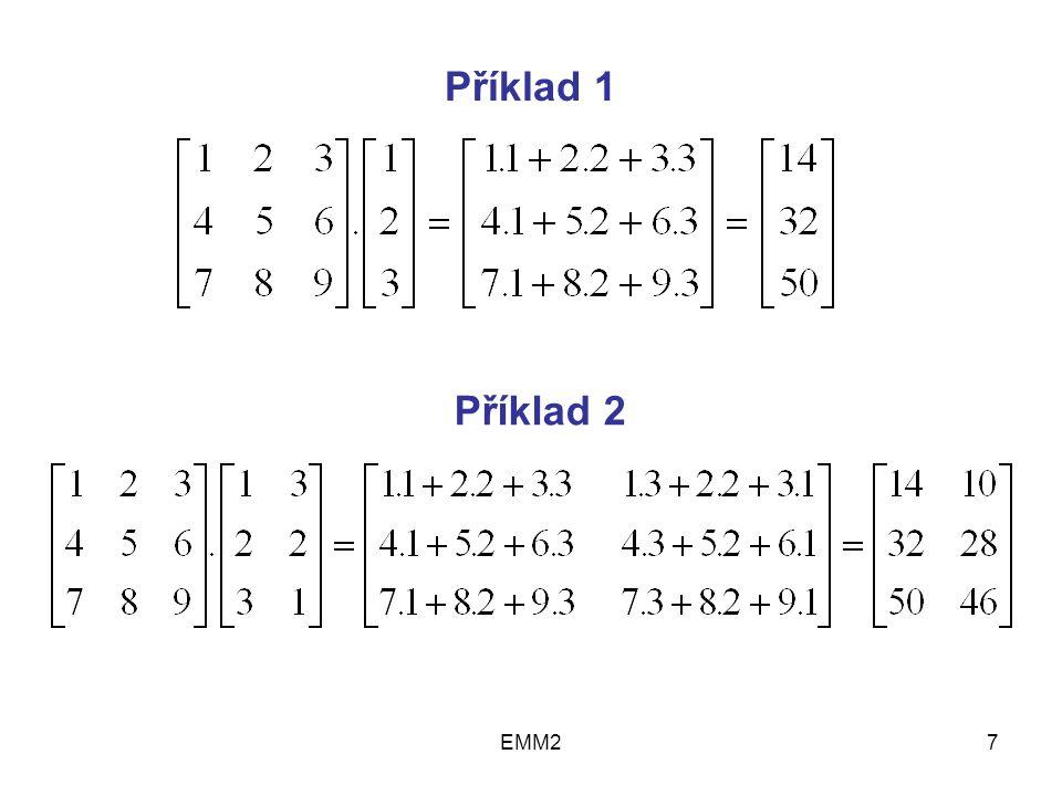 EMM27 Příklad 1 Příklad 2