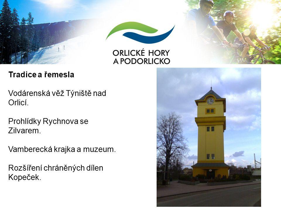 Tradice a řemesla Vodárenská věž Týniště nad Orlicí.