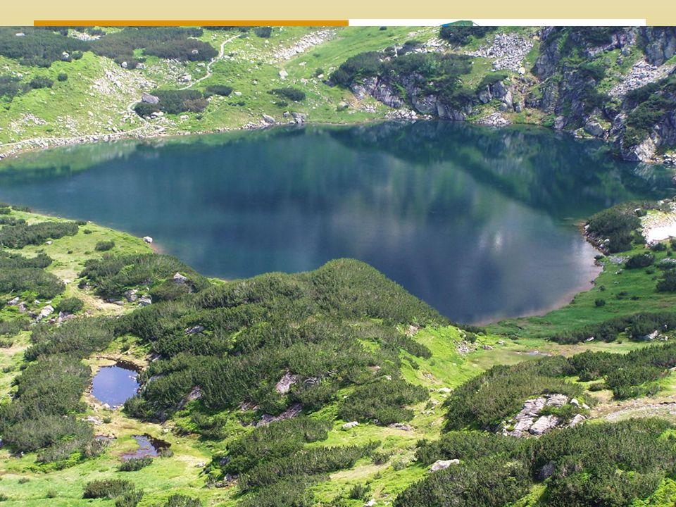 Povrch Území tvoří převážně nížiny hornatiny V dávné minulosti pokryté severským ledovcem, po jeho ústupu – mnoho jezer.