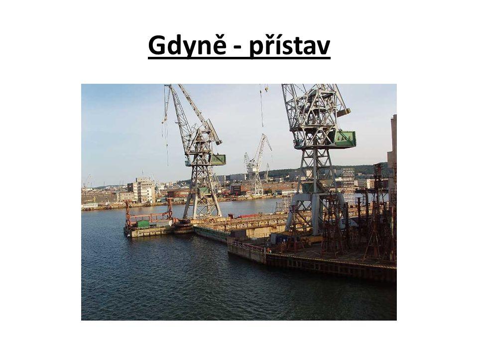 Gdyně - přístav