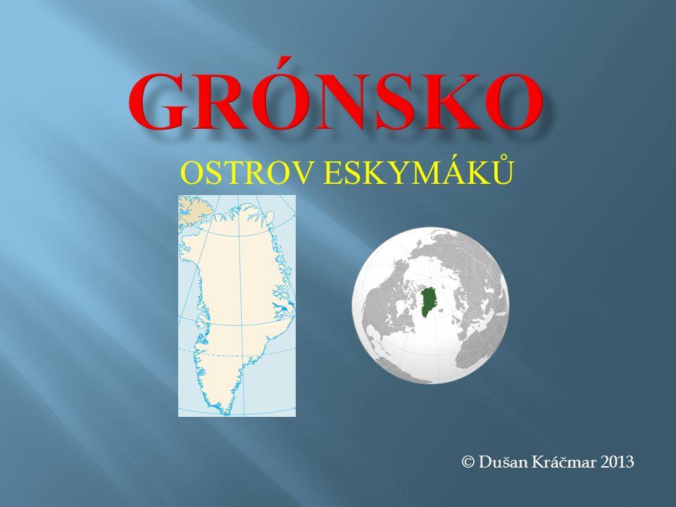 Typická grónská osídlení