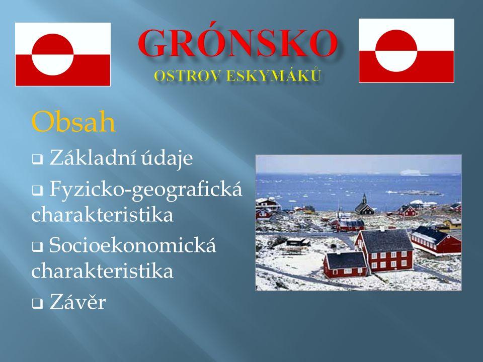  historie  1814 – Grónsko pod dánskou nadvládou  1953 – Grónsko přestává být kolonií  1979 – autonomie Grónska (vlastní vláda a parlament)  2008 – rozšíření autonomie (vlastní policie, nakládání se surovinami) grónský premiér Kuupik Kleist Dánská královna Margrethe II.
